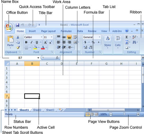 Other Features : Microsoft Excel 2007