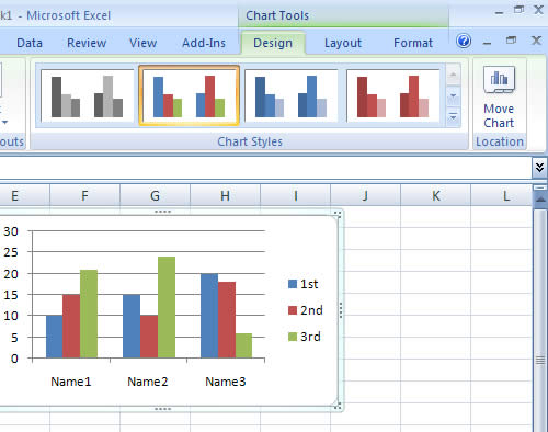 Tabs in excel 2007 ms excel 2007 unhide a sheetmicrosoft for Table design tab excel