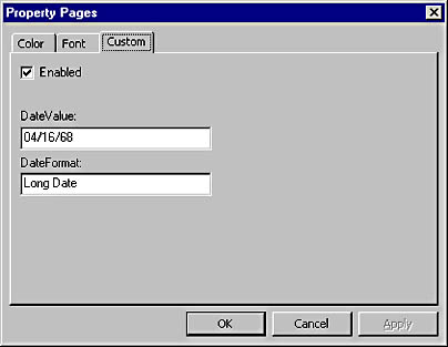 Creating Your Own Controls : Visual Basic